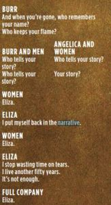 Who tells your story? Eliza.